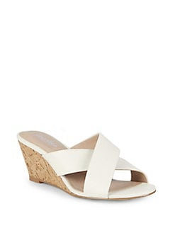 91d522cbeb7 QUICK VIEW. Charles by Charles David. Grady Cross-Strap Wedge Sandals