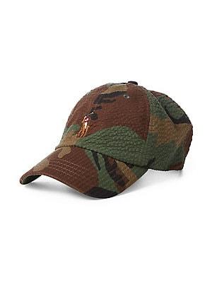 56880f63303 Polo Ralph Lauren - Great Outdoors Bear Cotton Baseball Cap ...