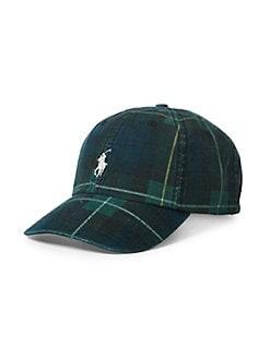 Product image. QUICK VIEW. Polo Ralph Lauren. Tartan Baseball Cap dc7c4461f66e