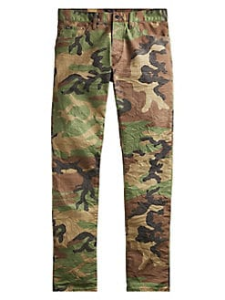a3e463a35 QUICK VIEW. Polo Ralph Lauren. Sullivan Stretch Slim Camouflage Jeans