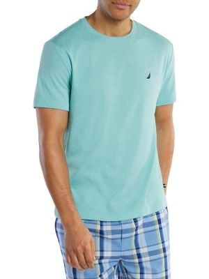 Image of Classic-Fit Short-Sleeve Pajama Top