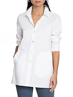 Women S Button Down And Collared Shirts Lord Taylor