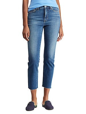 e8bcea429eee7 Lauren Ralph Lauren - Straight-Fit Ankle Jeans