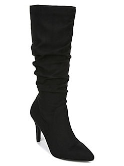 QUICK VIEW. Fergalicious. Nori Ruched Tall Boots 282612753bab