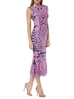 cf6fd2efcad QUICK VIEW. JS Collections. Soutache Midi Dress