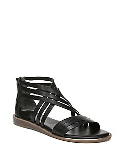 d1deed5f QUICK VIEW. Franco Sarto. Gaetana Strappy Flat Leather Sandals