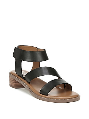 b99b0c478623 Franco Sarto - Landry Leather City Ankle-Strap Sandals ...