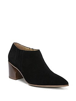 901cfb33fdd QUICK VIEW. Franco Sarto. Takoma Suede Point-Toe Booties