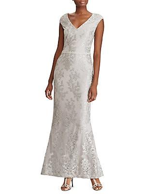 a1ad44d318f Lauren Ralph Lauren - Floral Tulle Gown