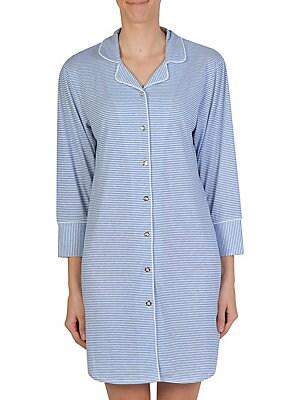 Kensie - Animal Print Jersey Sleepshirt - lordandtaylor.com 0ebe70d26