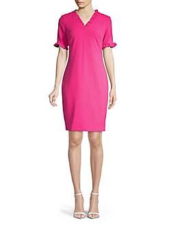 ff171dee4ce Ruffled Sheath Dress CABARET. QUICK VIEW. Product image
