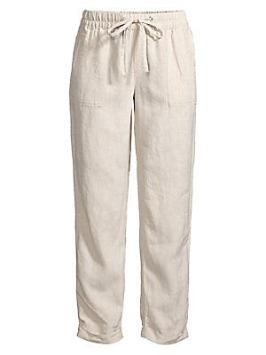 f23b1fc7f7e04 Plus Tiffany Crinkle Linen Button-Down Shirt. WAS.  68.00. NOW.  19.99 ·  Lord   Taylor - Jaden Linen Pants