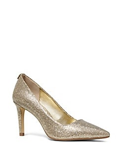bd5c82701d73 Product image. QUICK VIEW. MICHAEL Michael Kors. Metallic Textured Pumps.   99.00. brands we love · Dorothy Metallic Leather Pumps SILVER