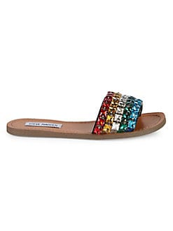 326849f3a27869 Product image. QUICK VIEW. Steve Madden. Serenade Rhinestone Embellished  Sandals