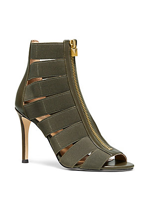 01d95d910 MICHAEL Michael Kors - Margaret Strappy Peep Toe Ankle Boots -  lordandtaylor.com