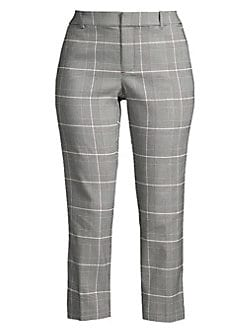 8f74f23ae64 QUICK VIEW. Lord   Taylor. Kelly High-Rise Plaid Ankle Pants