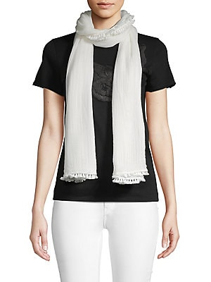 Floral Silk Scarf by Vince Camuto
