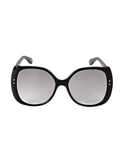488ce411438 QUICK VIEW. Gucci. 56MM Dotted Oversized Sunglasses