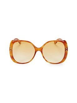 ec8067d46200c Product image. QUICK VIEW. Gucci. 56MM Oversized Square Sunglasses