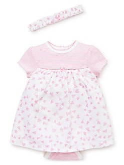 061782af3e67 Product image. QUICK VIEW. Little Me. Baby Girl s 2-Piece Printed Cotton ...