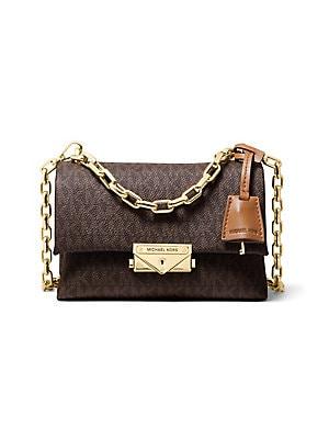 f38ba4791540 MICHAEL Michael Kors - Extra-Small Cece Chain Leather Crossbody Bag ...
