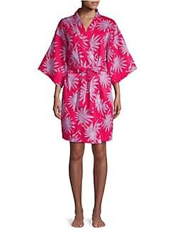 4d213688ec QUICK VIEW. Sesoire. Floral Short Wrap Robe