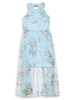 11c78481ef5 QUICK VIEW. Zunie. Girl s 3D Floral Maxi Dress