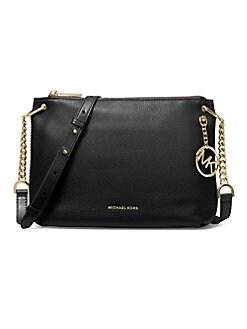 6bf2650ab8c2 QUICK VIEW. MICHAEL Michael Kors. Large Lillie Pebbled Leather Messenger Bag