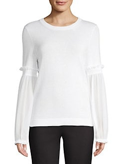 39c6766cdc Product image. QUICK VIEW. MICHAEL Michael Kors. Bishop-Sleeve Sweater