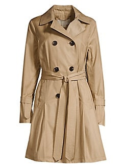 27708f2171 QUICK VIEW. MICHAEL Michael Kors. Longline Belted Trench Coat
