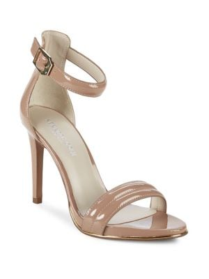 Brooke Patent Leather Ankle-Strap Sandals 500089068571