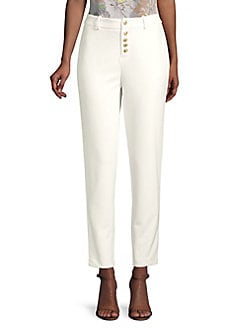 a0bb4dc98f0 QUICK VIEW. Calvin Klein. Slim Button Front Pants