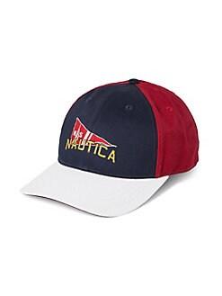 02f832dce7c QUICK VIEW. Nautica. Colorblock Collegiate Cotton Baseball Cap