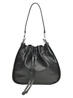 8170afd38a Ilana Leather Hobo Bag COGNAC. QUICK VIEW. Product image