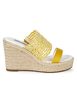 1d8ac48471e7a8 QUICK VIEW. Karl Lagerfeld Paris. Celie Cutout Leather Espadrille Sandals