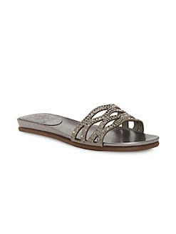 b8bb5bed172 QUICK VIEW. Vince Camuto. Empiana Embellished Suede Sandals