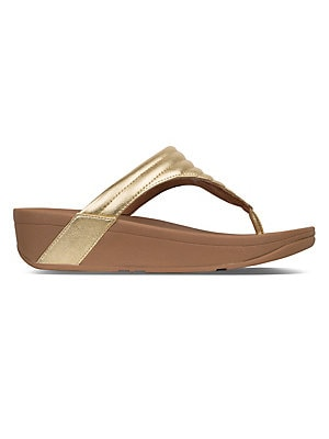 8abdb2590 FitFlop - Lottie™ Padded Toe-Thong Sandals
