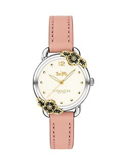 b4b8795954d5 QUICK VIEW. COACH. Delancey Leather Strap Watch