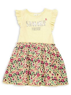 Little Girl s Floral Ruffle Dress LEMONADE. QUICK VIEW. Product image 8a34b4df4f74
