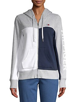 b702afe2 QUICK VIEW. Tommy Hilfiger Performance. Colorblock Zip Front Hoodie