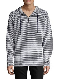 fcd341da3b34f Product image. QUICK VIEW. SURFSIDESUPPLY. Striped Quarter-Zip Hoodie