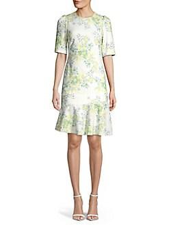 4ac93c9f3db QUICK VIEW. Calvin Klein. Floral Sheath Dress