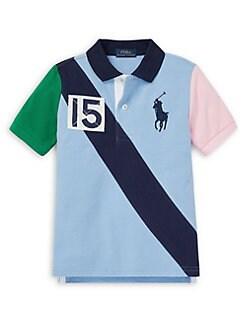 6823054c9 ... Boy's Colorblock Polo Shirt BLUE. QUICK VIEW. Product image. QUICK  VIEW. Ralph Lauren Childrenswear