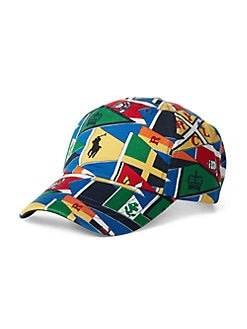 3c0a783d3 Product image. QUICK VIEW. Polo Ralph Lauren. Burgee Flag Baseball Cap