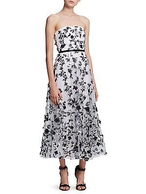 eb6876c47ed69 Marchesa Notte - Cutout Tulle Fit-And-Flare Dress - lordandtaylor.com