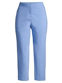 64459566bee QUICK VIEW. Rafaella. Satin Twill Capri Pants