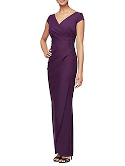 da51890306f QUICK VIEW. Alex Evenings. Jersey Sheath Dress