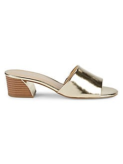 9009ad8cf06b2e QUICK VIEW. Lexi and Abbie. Edie Glossy Hardware-Heel Sandals
