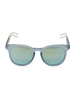 137e2f040afc58 QUICK VIEW. Circus by Sam Edelman. 76MM Circus Round Sunglasses