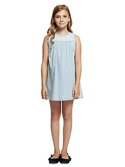 d931b044a61f QUICK VIEW. Dex. Girl s Embroidered Cotton Dress